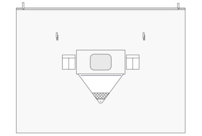 Vertical Isolation Drapes E2049