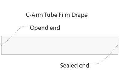 C Arm tube film drape